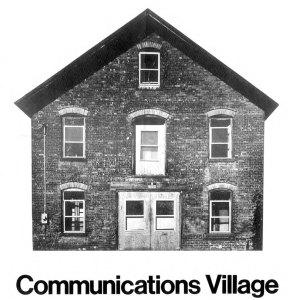 wigfall_communications_villag_poster