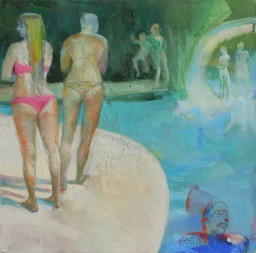 Another-Day-at-the-Pool-16-x-16-oil