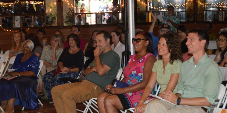 Celebrity front row! – Photo by Gloria Waslyn