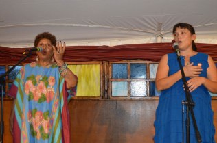 Carole Ione and Lisa Barnard Kelley – Photo by Gloria Waslyn