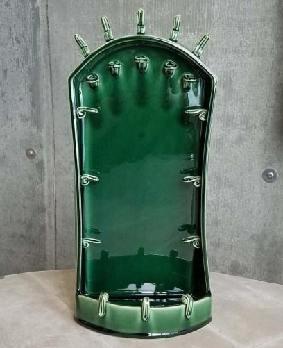 Emerald Green Jewelry Altar