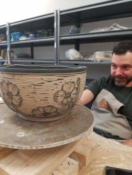 Kingston Ceramics Studio Student