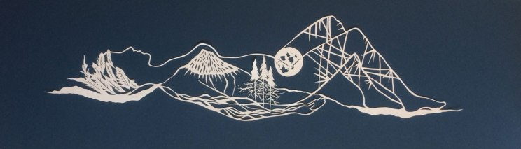 Jenny-Lee-Fowler-resting-on-the-mountain-paper-cut
